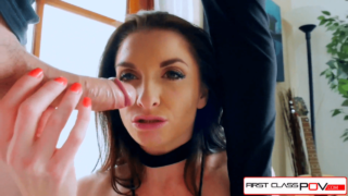Slutty MILF With Pretty Fuck Me Eyes and Hot Tits Sucks a Mean Dick!